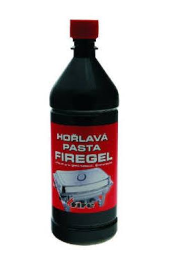 Firegel hořlavá pasta 1 l