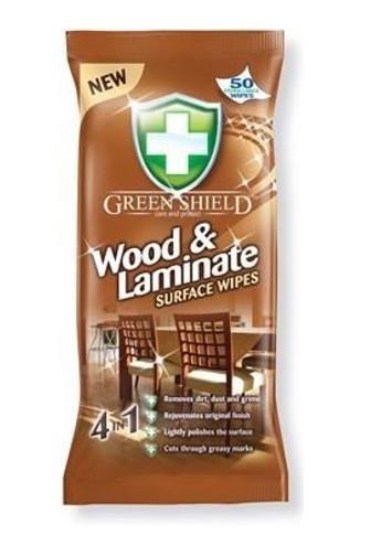 Green Shield ubrousky úklidové dřevo + laminát 50 ks