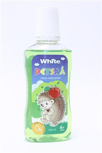 White dětská ústní voda jablko 6+ let 300 ml
