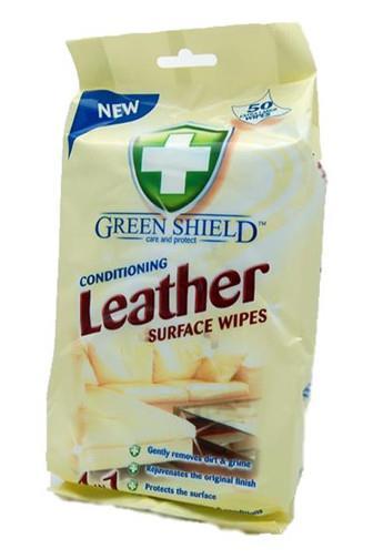 Green Shield ubrousky na kůži 50 ks