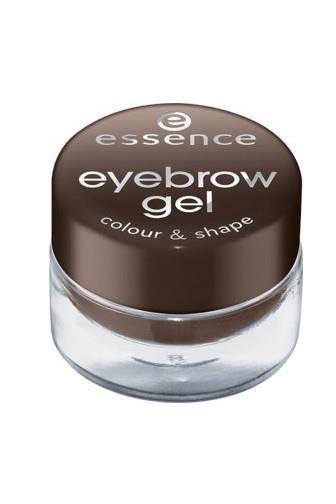 Essence Eyebrow gel colour & shape na obočí 01 brown  3g