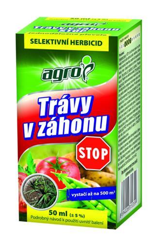 Agro Trávy v záhonu selektivní herbicid 50 ml