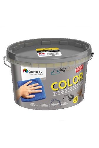 Colorlak Prointeriér Color V2005 C0167 tónovaná interiérová malířská barva Vanilková  8 kg