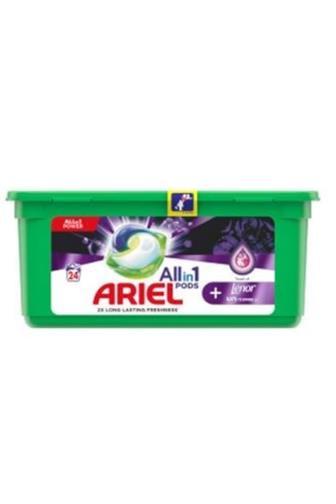 Ariel All in 1 Lenor unstoppables gelové kapsle 24 ks
