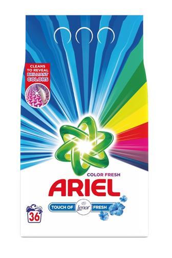 Ariel prášek touch of lenor prací prášek 36 dávek 2,7 kg