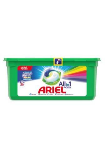 Ariel All in 1 touch of lenor gelové kapsle 23 ks