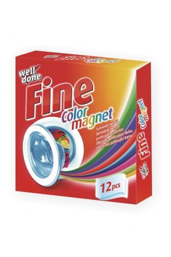 Well Done Fine Color magnet ubrousky pohlcující barvu 12ks