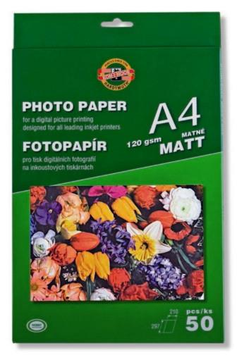 Fotopapír A4 matný 120gsm 50ks