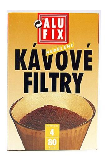 AluFix Filtr na kávu č.4 100¸ks