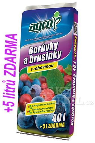 Agro Substrát borůvky a brusinky 40 + 5 L