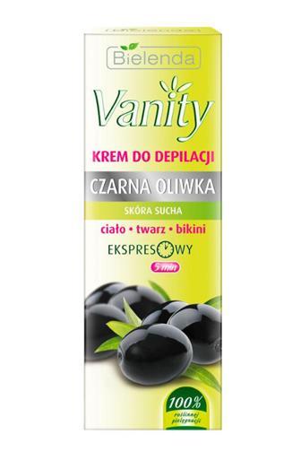 Bielenda Vanity Black olive depilační krém 5 min.100 ml