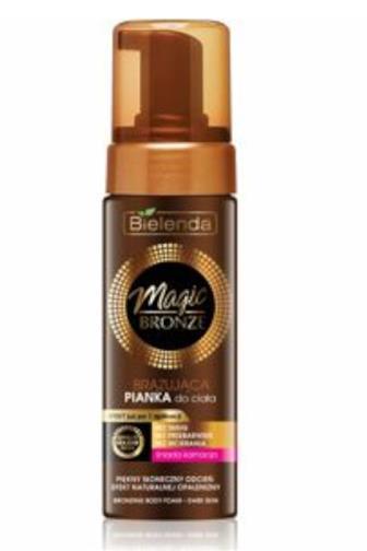 Bielenda Magic bronze samoopalovací pěna na tmavou pokožku 150 ml
