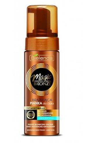 Bielenda Magic bronze samoopalovací pěna pro světlou pokožku 150 ml
