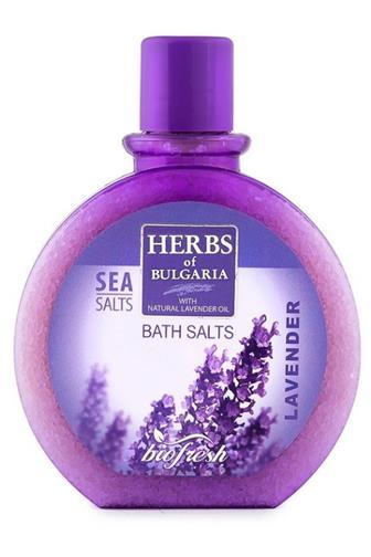 BioFresh Herbs of Bulgaria sůl lavender 360 g