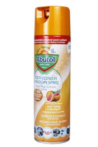 Abutol sprej čistí vzduch a plochy antitabac 450 ml
