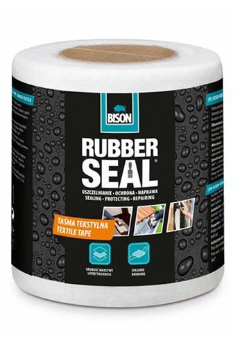 Bison Rubber texilní páska 10 cm x 10 m