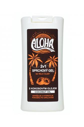Aloha 2v1 sprchový gel s kokosovým olejem 200 ml