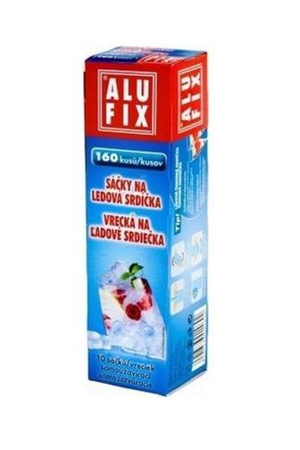 Alufix sáčky na led srdíčka 10 ks