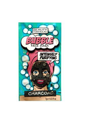 Beauty Formulas bublinková detoxikační maska aktivní uhlí 7 g