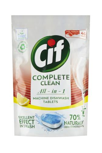 CIF All-in-1 Complete Clean Lemon tablety do myčky 70 ks