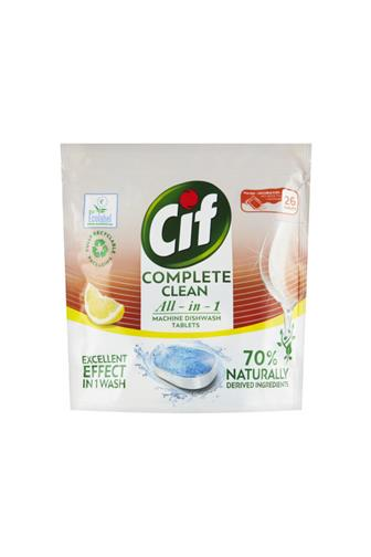 CIF All-in-1 Complete Clean Lemon tablety do myčky 26 ks