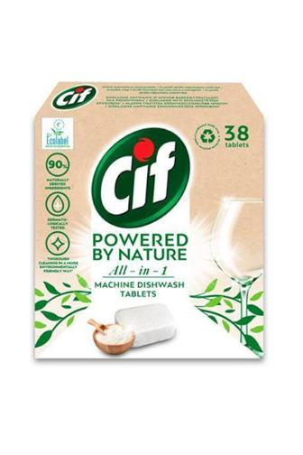 CIF All-in-1 Powered by Nature tablety do myčky 38 ks