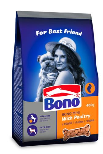 Bono Mini drůbeží 400 g