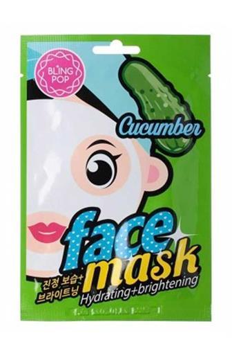 Bling Pop Cucumber pleť.maska hydratační rozjasňující 20 ml