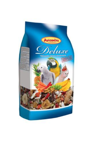 Avicentra Deluxe krmivo pro velké papoušky 1 kg
