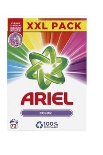 Ariel Color prací prášek 72 dávek box 5,4 kg