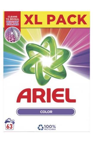 Ariel Color Aqua puder prací prášek 63 dávek box 4,725 kg