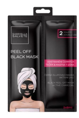 Gabriella Salvete Pleťová maska černá Odstranění černých teček 2 x 8 ml