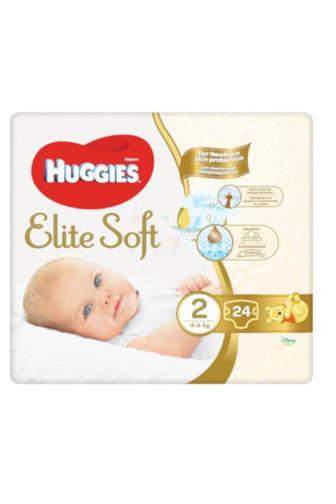 Huggies Elite Soft č. 2 24 ks