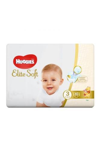 Huggies Elite Soft č. 3 40 ks