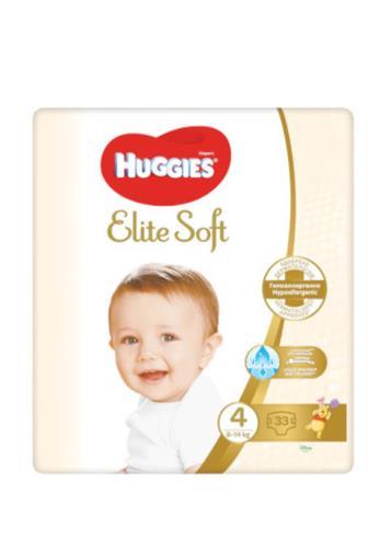 Huggies Elite Soft č. 4 33 ks