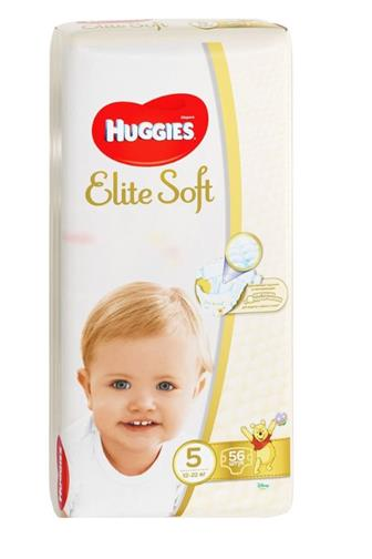 Huggies Elite Soft č. 5 56 ks