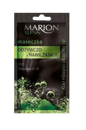 Marion Spa Nourishing-moisturizing pleťová maska vyživující-hydratační 7,5 ml
