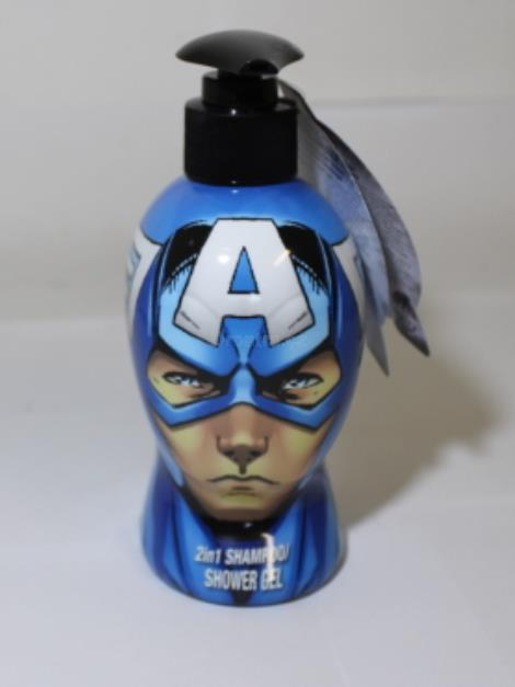 Captain America sprch.gel+šampon 300 ml