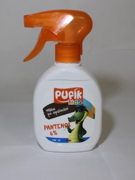 Pufík Kids Pantenol 6% mléko po opalování spray 300 ml