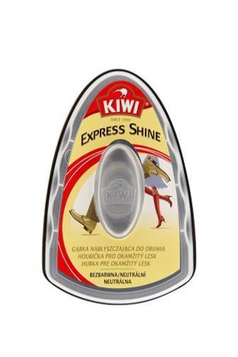 Kiwi Express Shine samoleštící houbička - bezbarvá 6ml