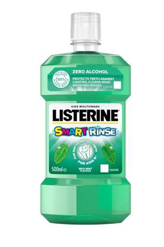 Listerine Smart Rinse dětská ústní voda Mild Mint 250 ml 6+